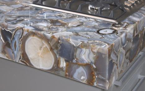 Concetto Countertop From Caesarstone. Pyrolave Glazed Lava Countertop